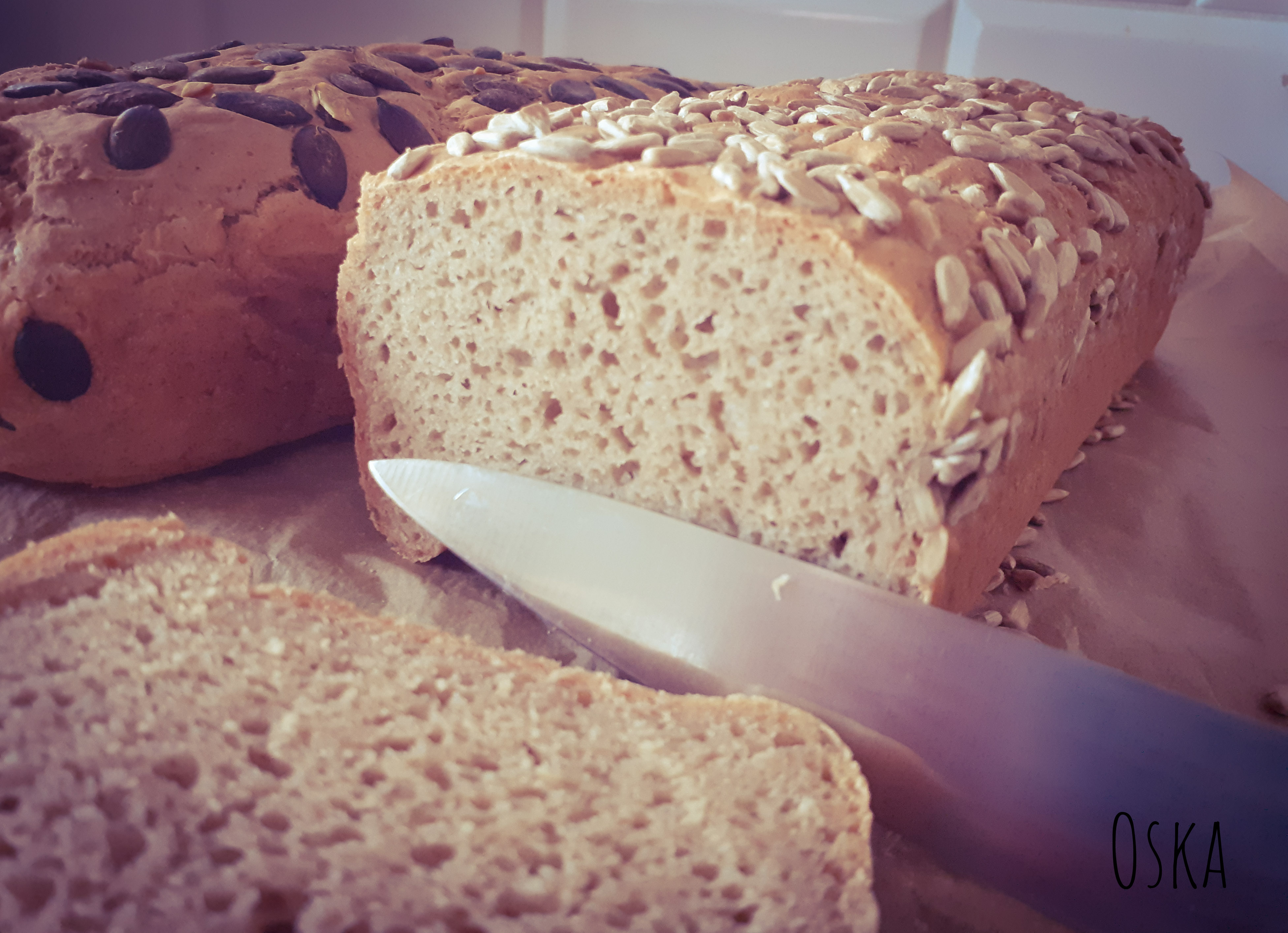 Chleb zytni na drozdzach